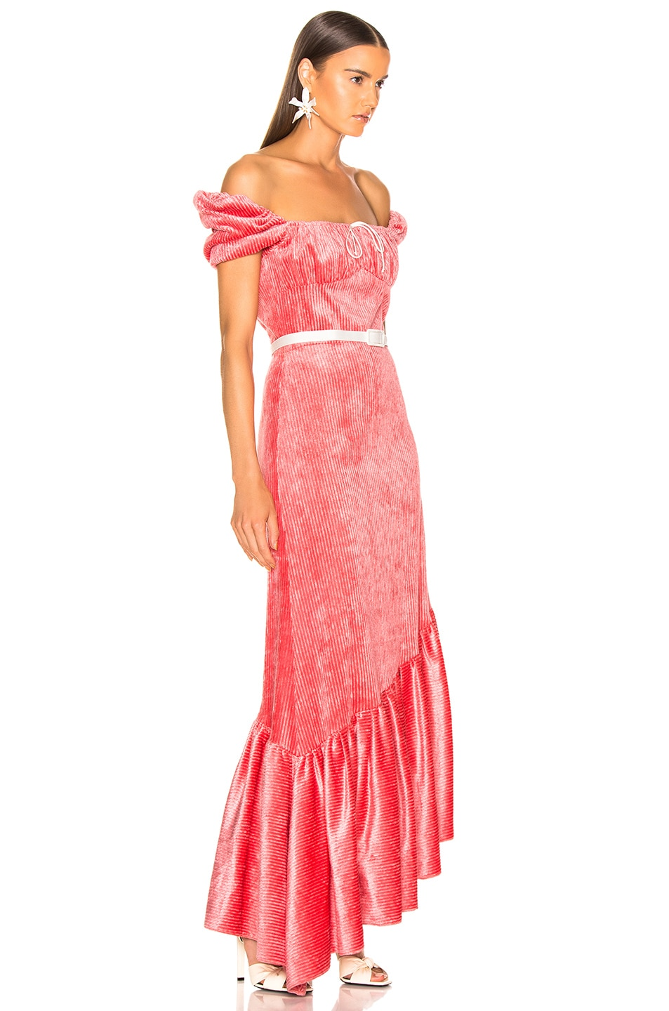 Image 2 of HELLESSY Helen Dress in Coral