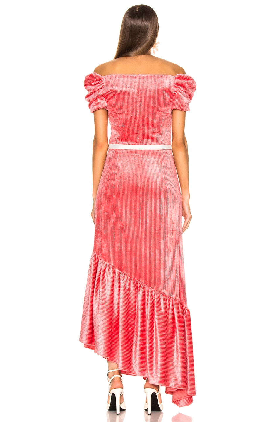 Image 3 of HELLESSY Helen Dress in Coral