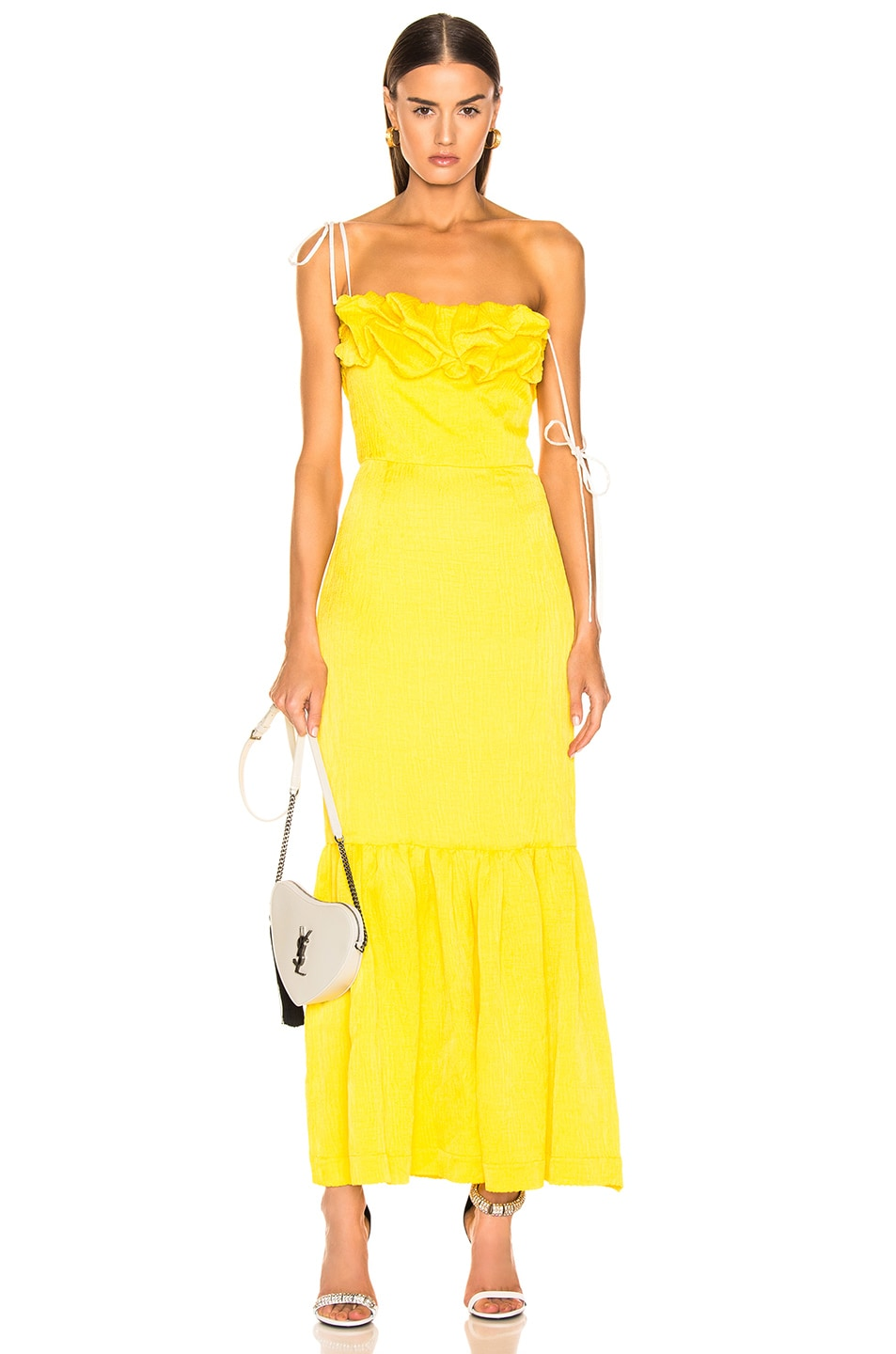 Image 1 of HELLESSY Rosie Dress in Daffodil