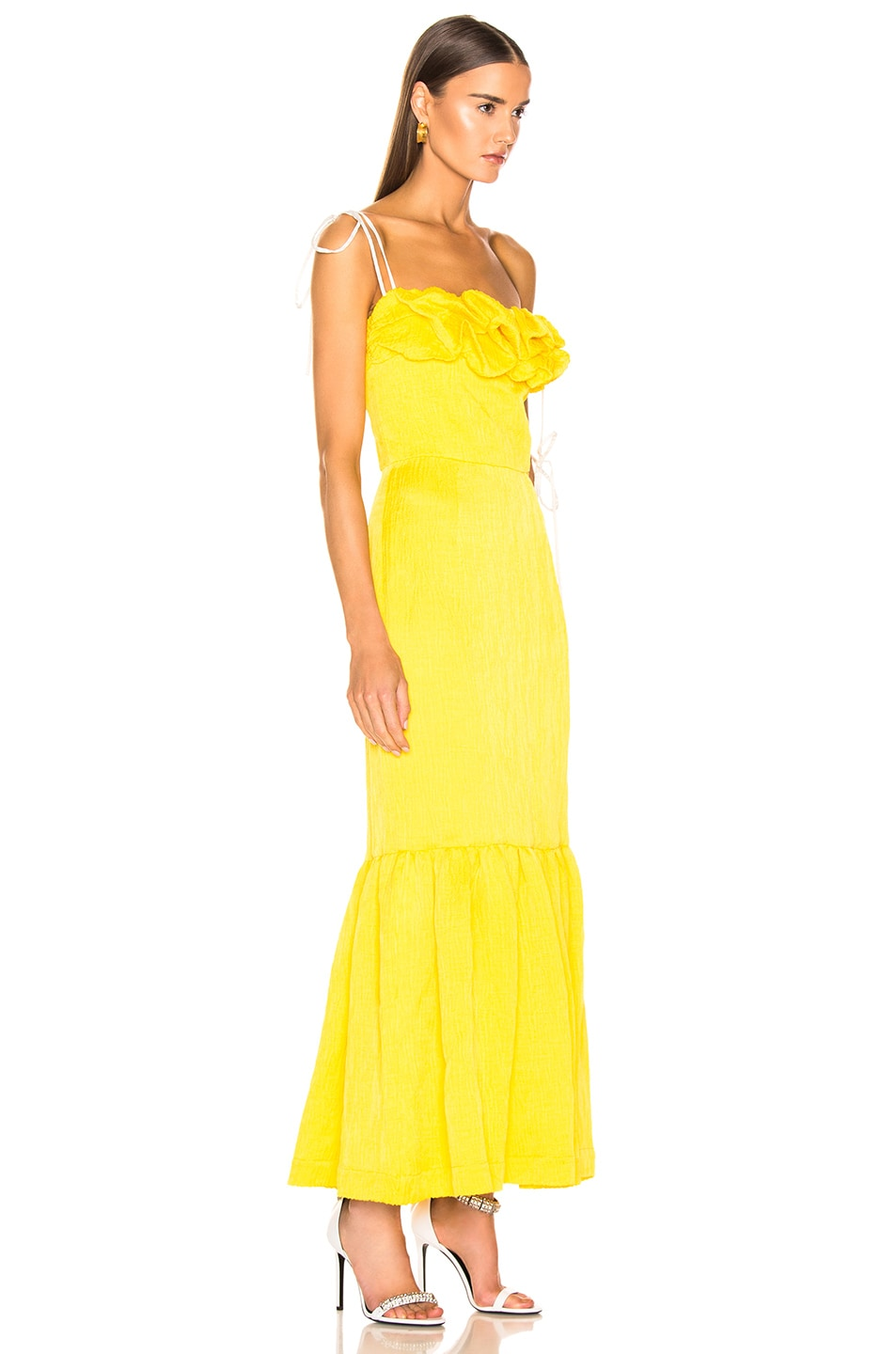Image 2 of HELLESSY Rosie Dress in Daffodil