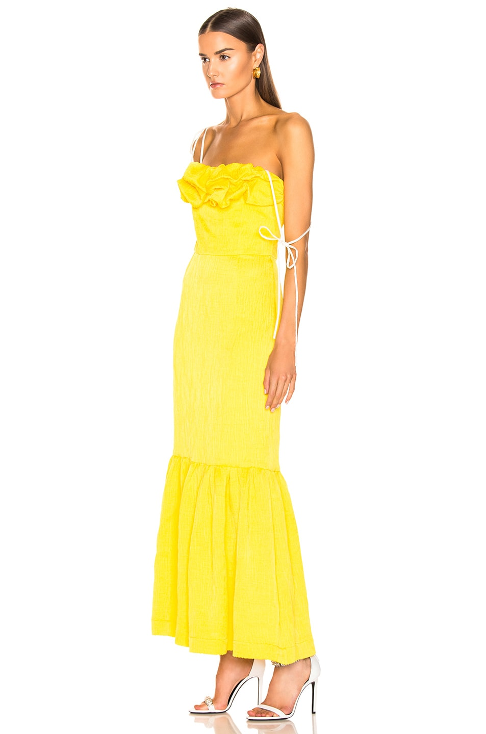 Image 3 of HELLESSY Rosie Dress in Daffodil