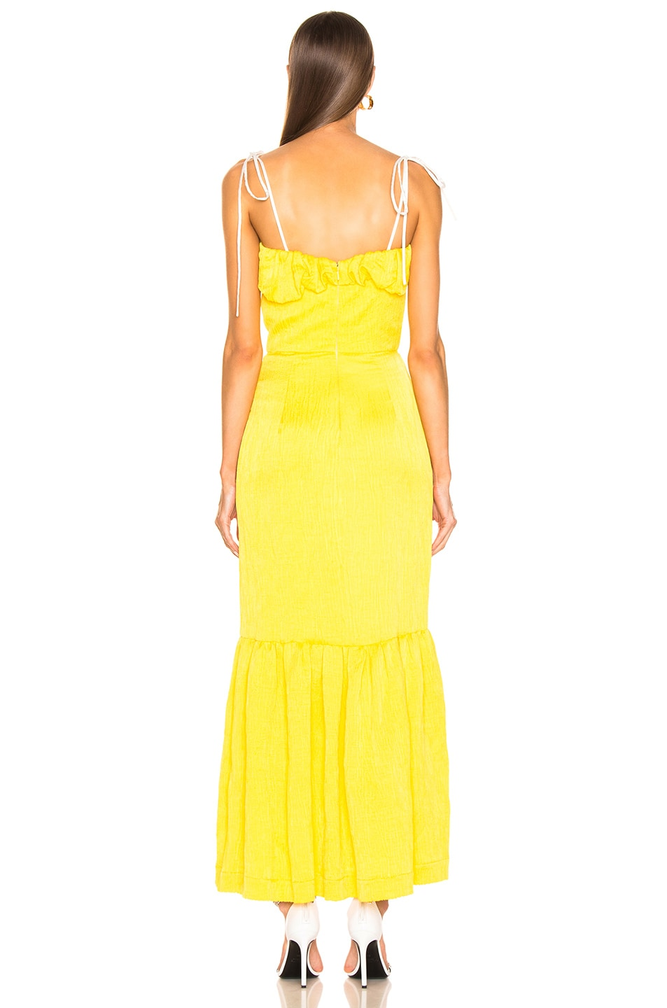 Image 4 of HELLESSY Rosie Dress in Daffodil
