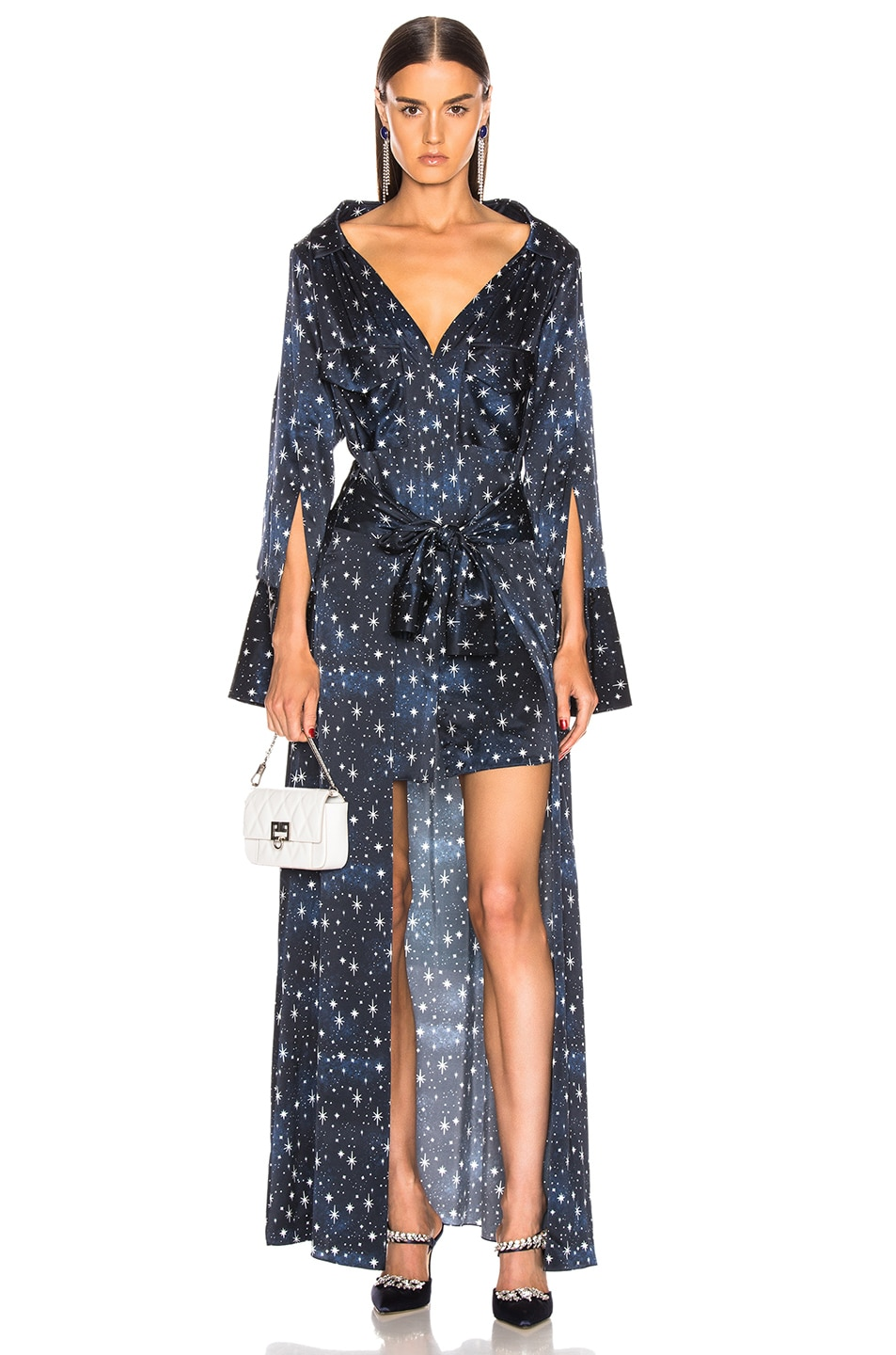Image 1 of HELLESSY Overture Shirtdress in Galaxy Star