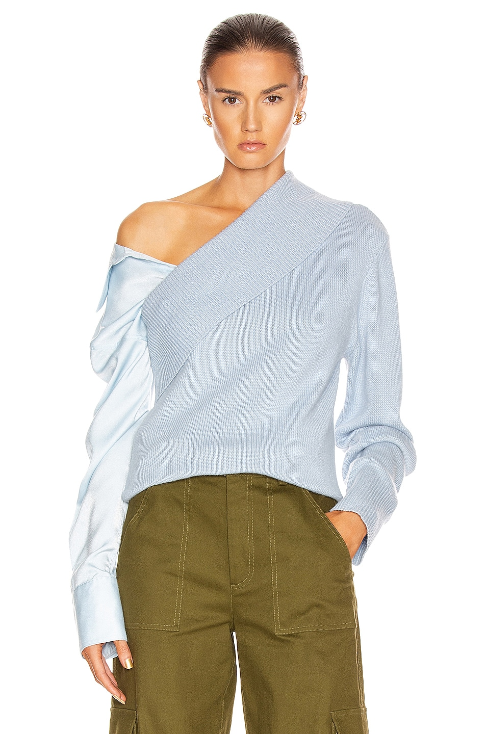 Image 1 of HELLESSY Joffe Sweater in Sky Blue