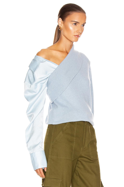Image 3 of HELLESSY Joffe Sweater in Sky Blue
