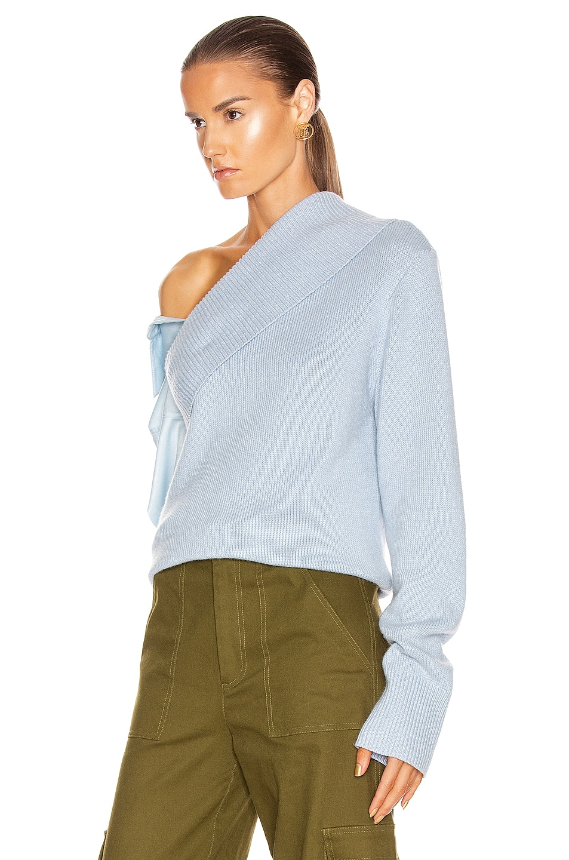 Image 4 of HELLESSY Joffe Sweater in Sky Blue