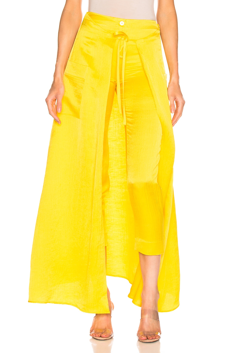Image 1 of HELLESSY Windsor Pant in Daffodil