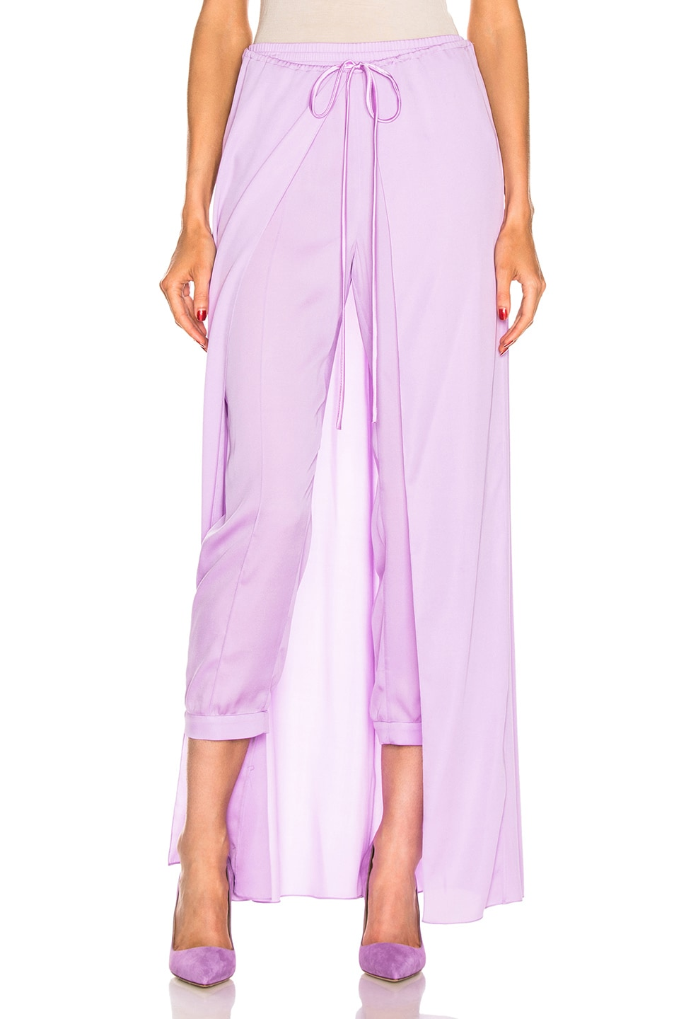 Image 1 of HELLESSY Solar Jogger Pant in Powder Lilac