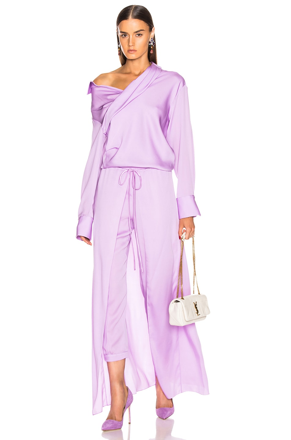 Image 5 of HELLESSY Solar Jogger Pant in Powder Lilac