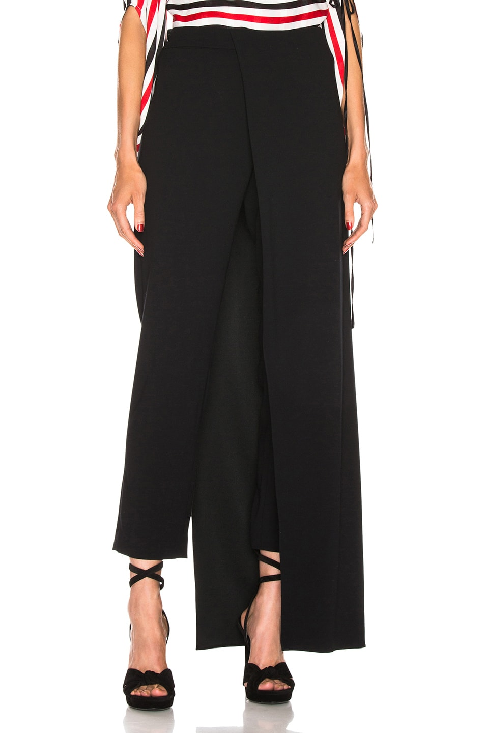 Image 1 of HELLESSY Eclipse Overskirt Trouser in Black