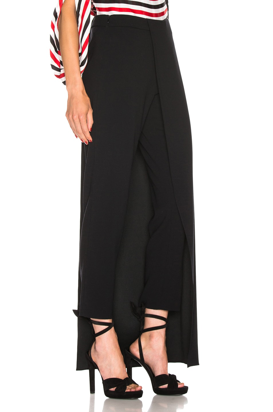 Image 2 of HELLESSY Eclipse Overskirt Trouser in Black