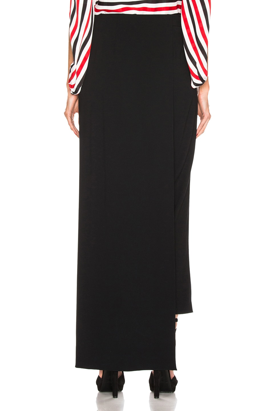 Image 4 of HELLESSY Eclipse Overskirt Trouser in Black