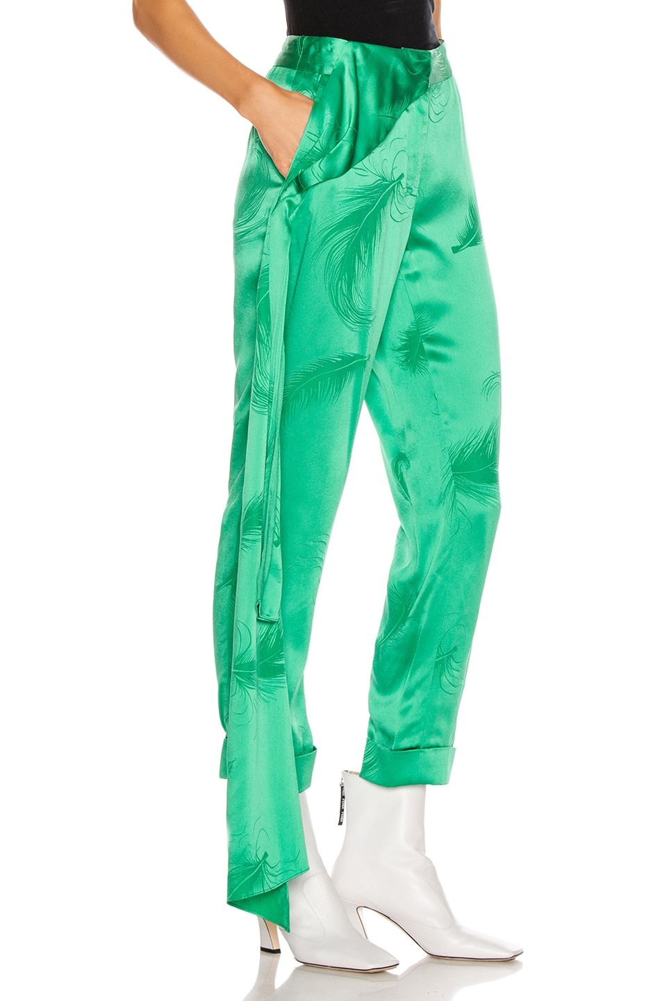 Image 2 of HELLESSY O'Keefe Trouser in Kelly Green
