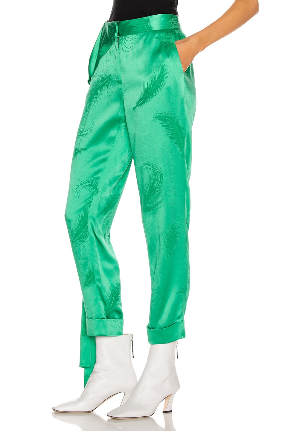 Image 3 of HELLESSY O'Keefe Trouser in Kelly Green