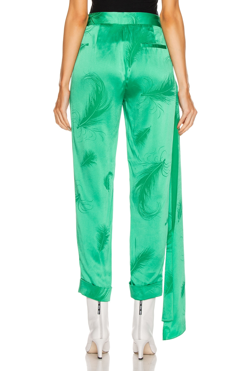 Image 4 of HELLESSY O'Keefe Trouser in Kelly Green