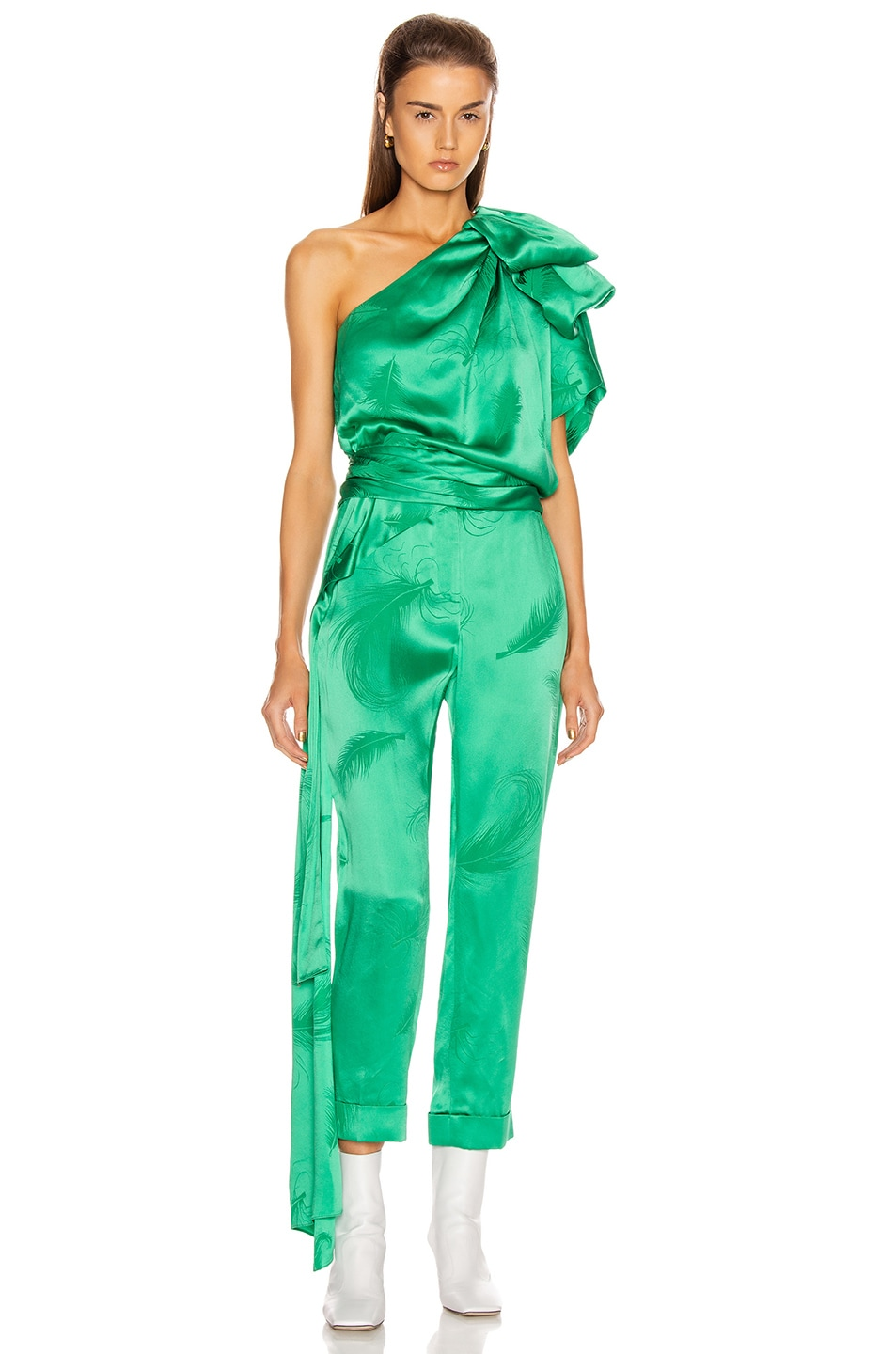 Image 5 of HELLESSY O'Keefe Trouser in Kelly Green