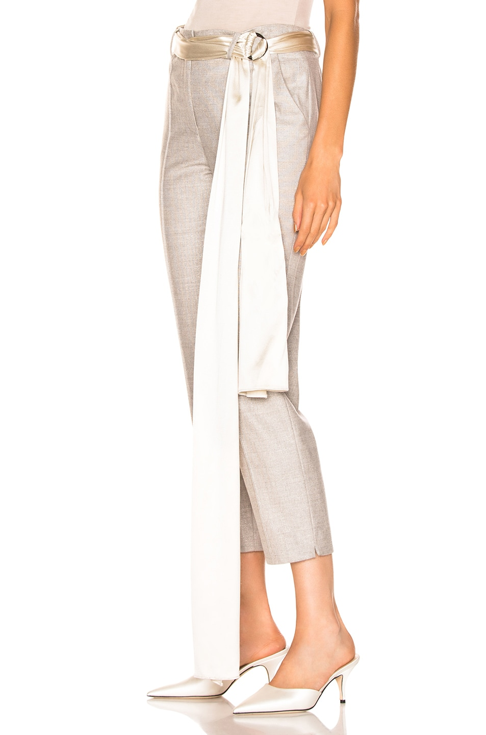 Image 3 of HELLESSY Rapunzel Trouser Pant in Platinum Grey
