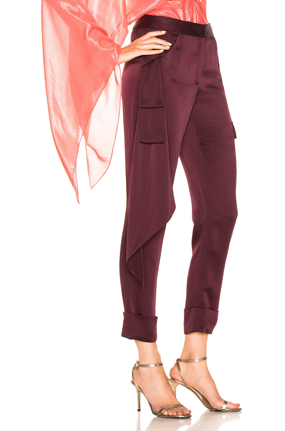 Image 2 of HELLESSY Beaton Pant in Plum