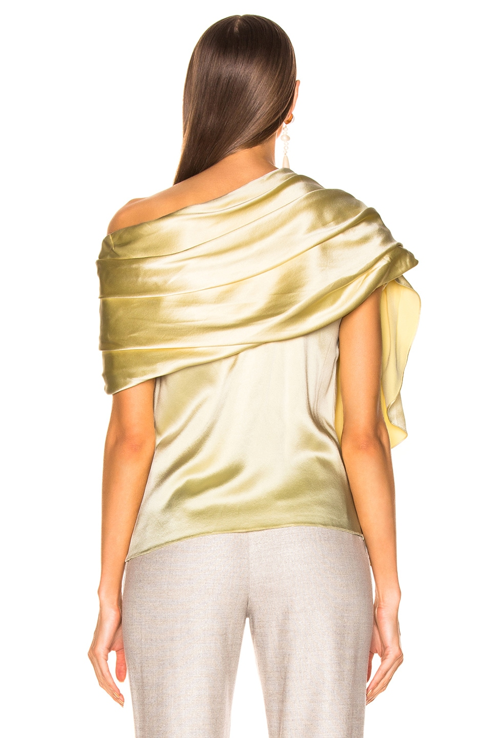 Image 4 of HELLESSY Waterfall Top in Pale Yellow