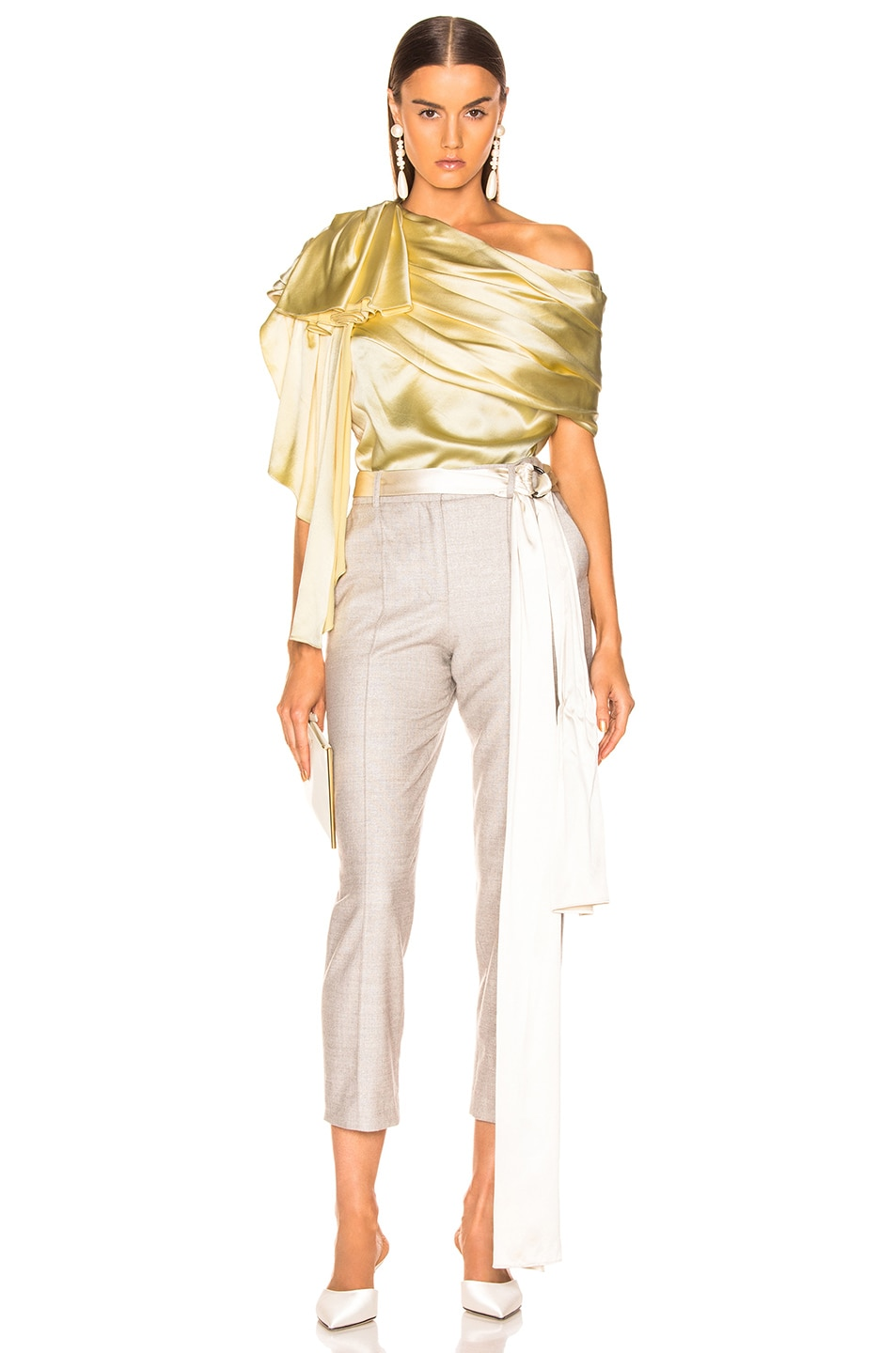 HELLESSY Waterfall Top Pale Yellow hot sale 2019