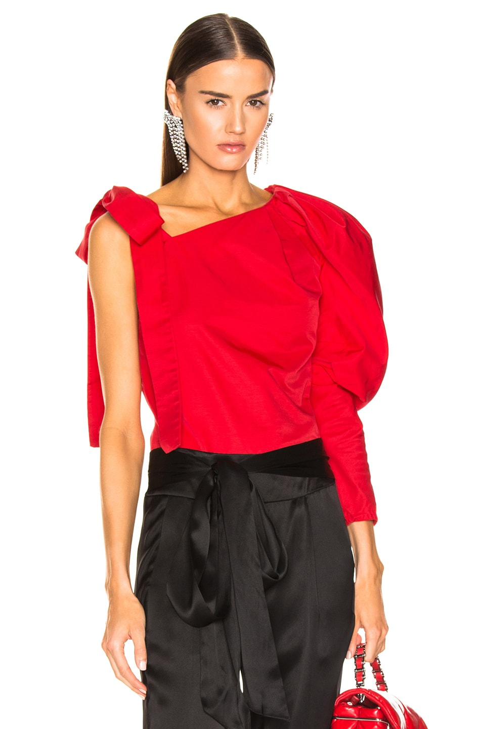 Image 1 of HELLESSY Cooper Top in Poppy
