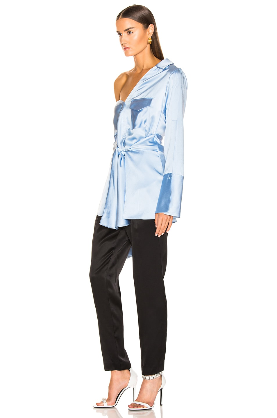 Image 3 of HELLESSY Clark Shirt in Sky Blue