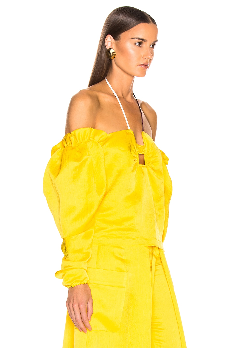Image 2 of HELLESSY CZ Top in Daffodil