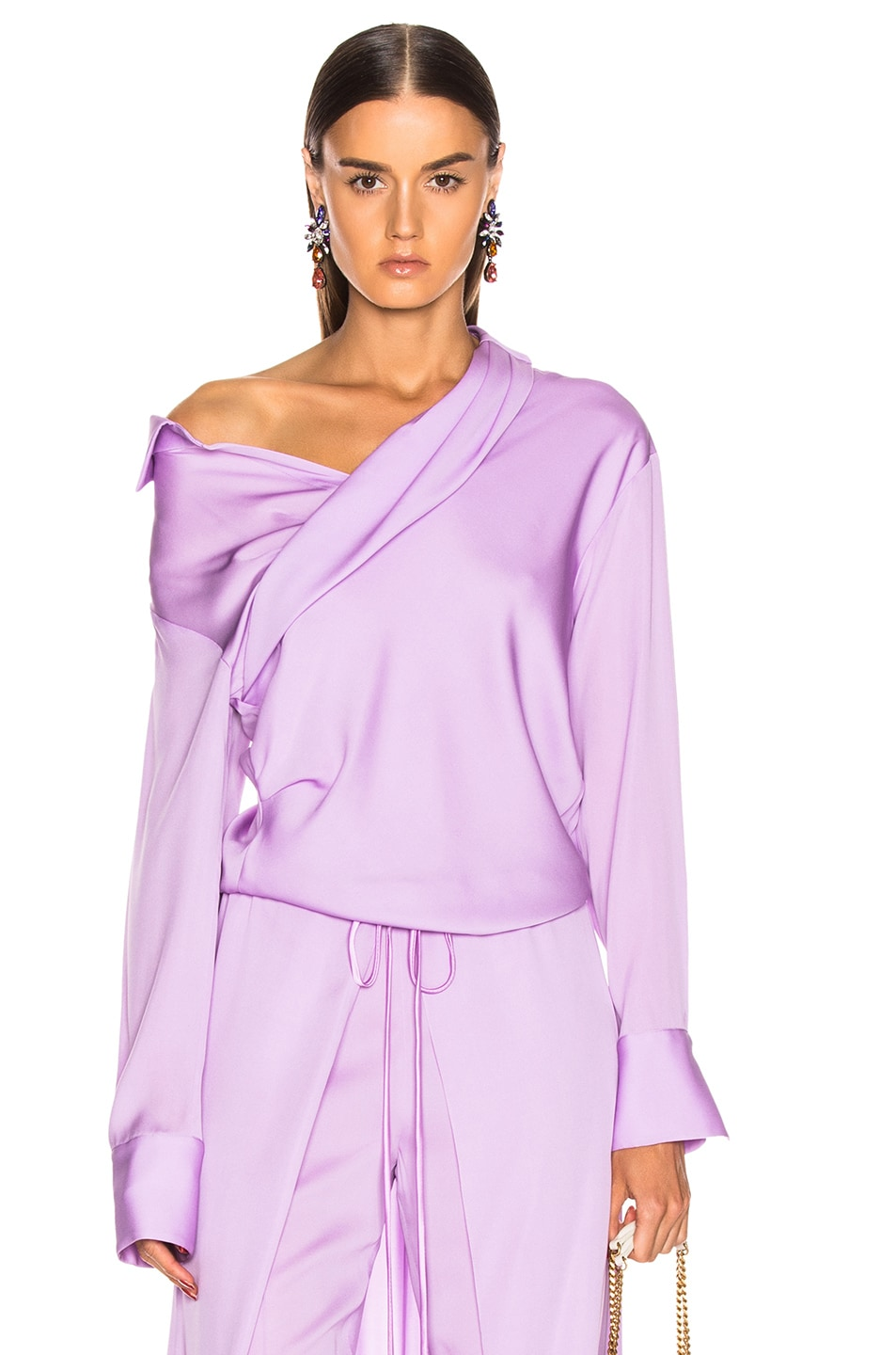 Image 1 of HELLESSY Stellar Blouse in Powder Lilac