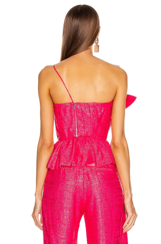 Image 4 of HELLESSY Kempner Bustier Top in Shocking Pink