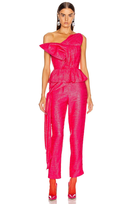 Image 5 of HELLESSY Kempner Bustier Top in Shocking Pink