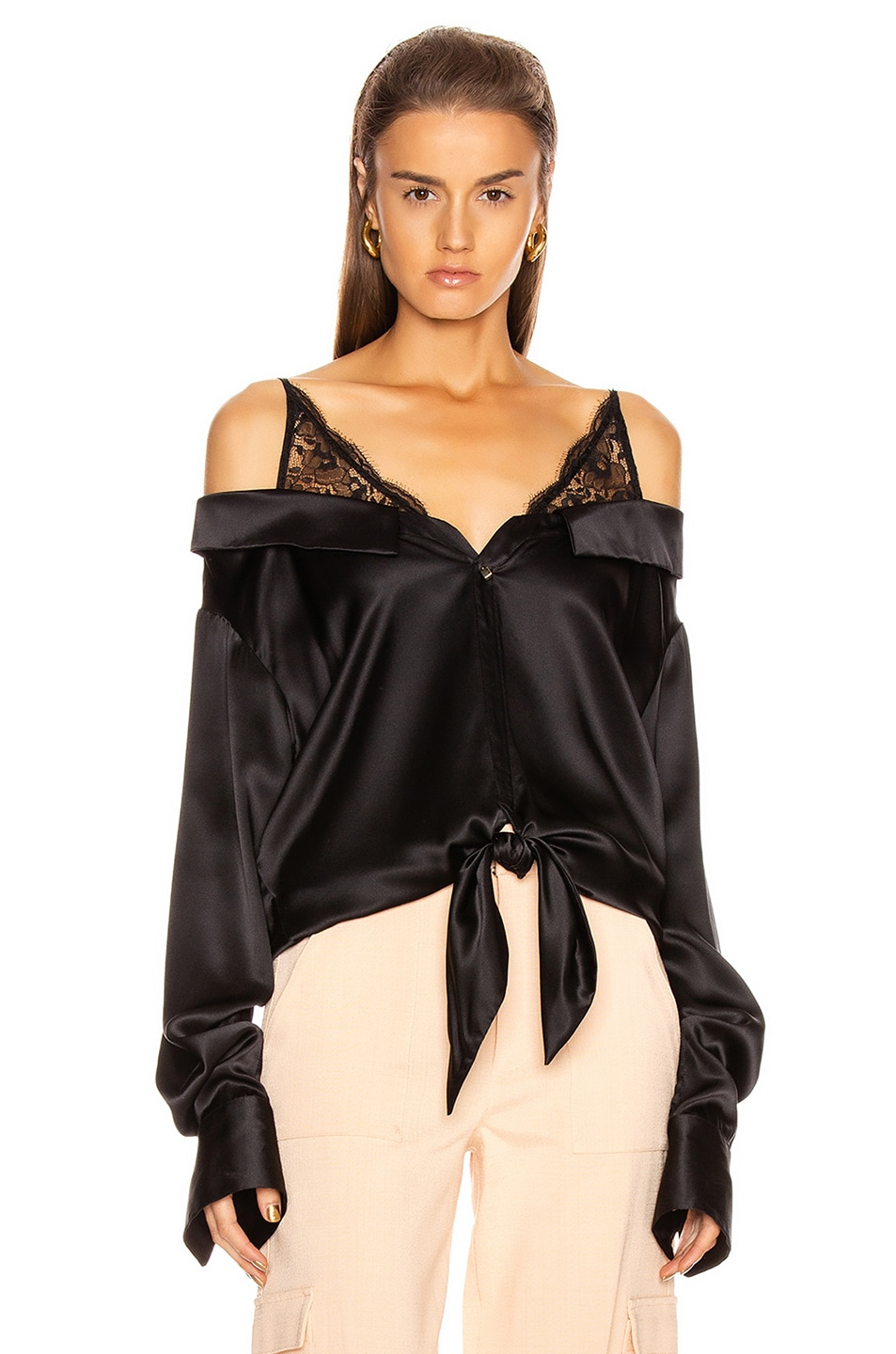 Image 1 of HELLESSY Fontana Blouse in Black