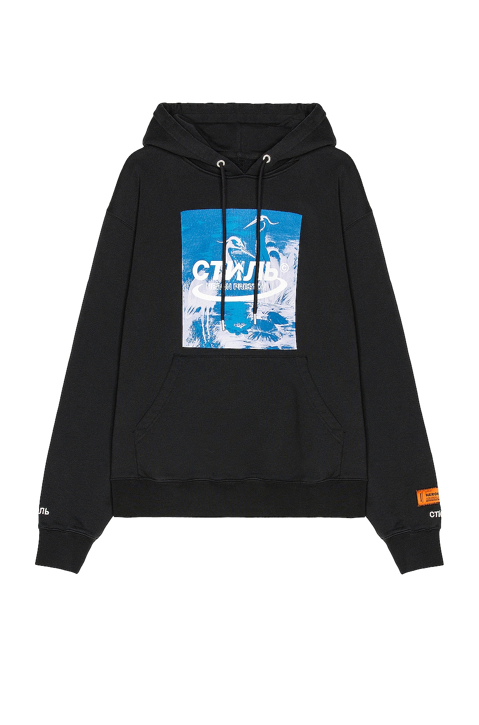 Image 1 of Heron Preston Herons Hoodie in Black