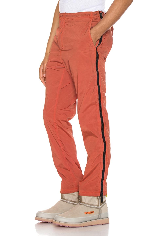 Image 1 of Heron Preston Side Zip Pants in Washed Red