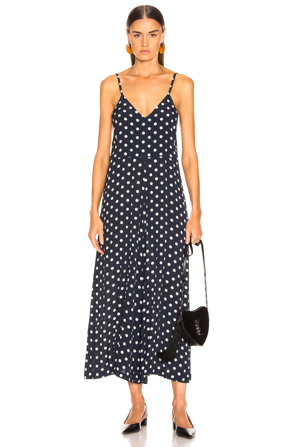 Image 1 of ICONS Objects of Devotion Winona Jumpsuit in Polka Dot