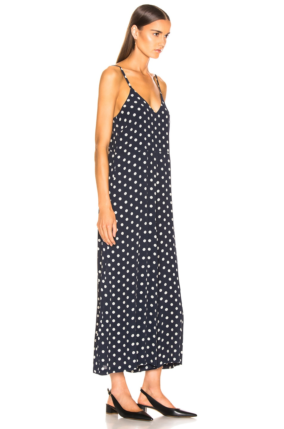 Image 2 of ICONS Objects of Devotion Winona Jumpsuit in Polka Dot