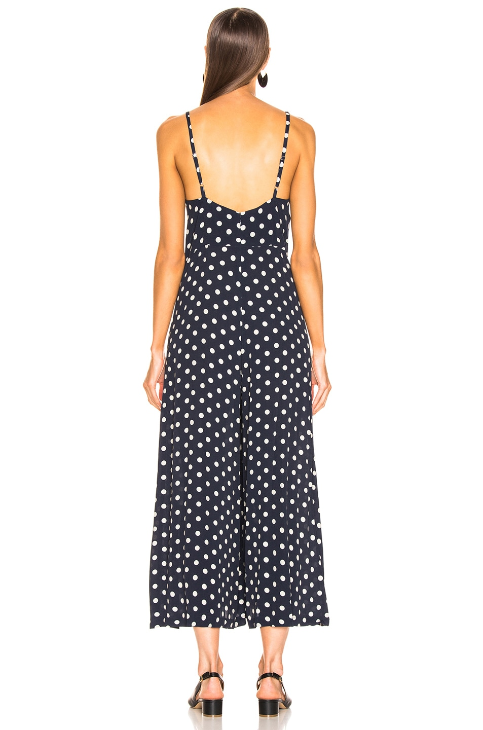 Image 3 of ICONS Objects of Devotion Winona Jumpsuit in Polka Dot