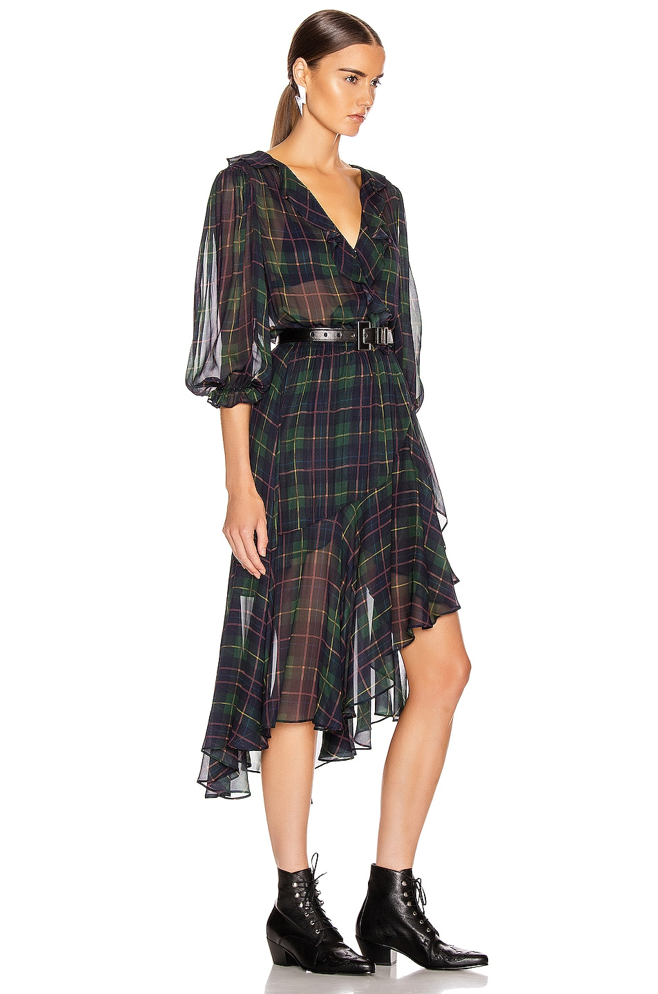 Image 2 of ICONS Objects of Devotion The Flamenco Dress in Classic Tartan