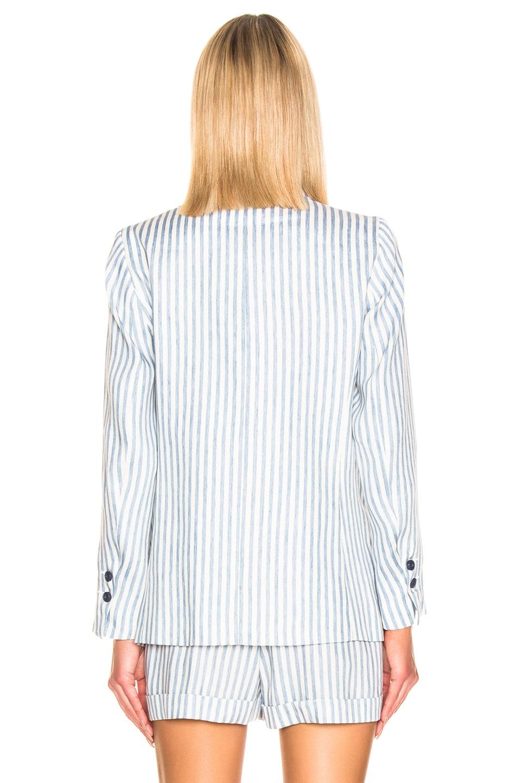 Image 4 of ICONS DB Blazer in Indigo Stripe