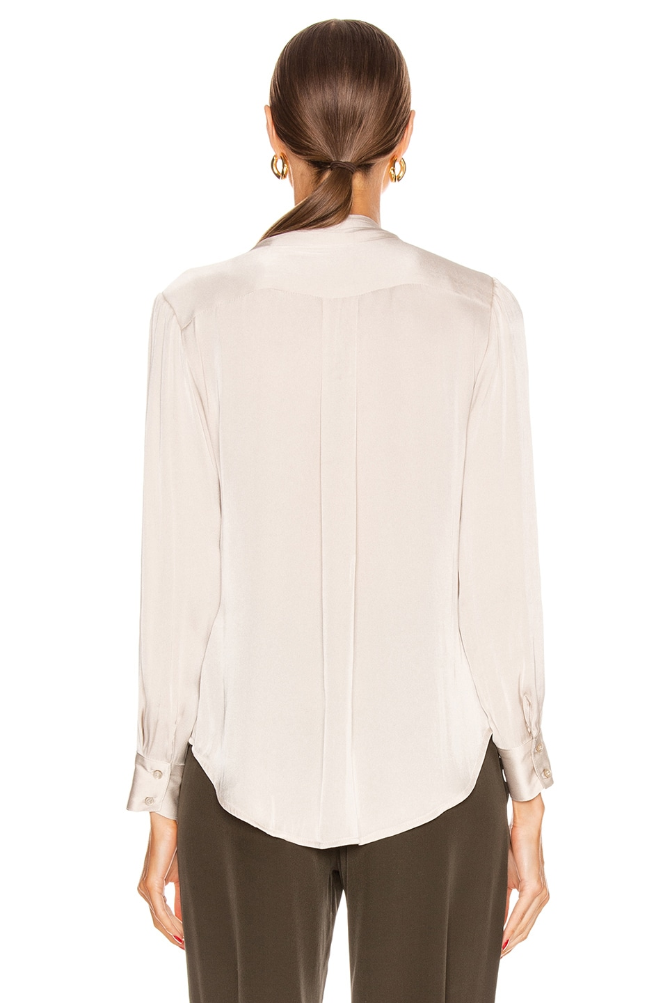Image 4 of ICONS Objects of Devotion Romantic Blouse in Champagne