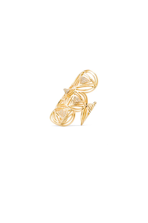 Image 1 of Ileana Makri Dizziness Ring in Yellow Gold