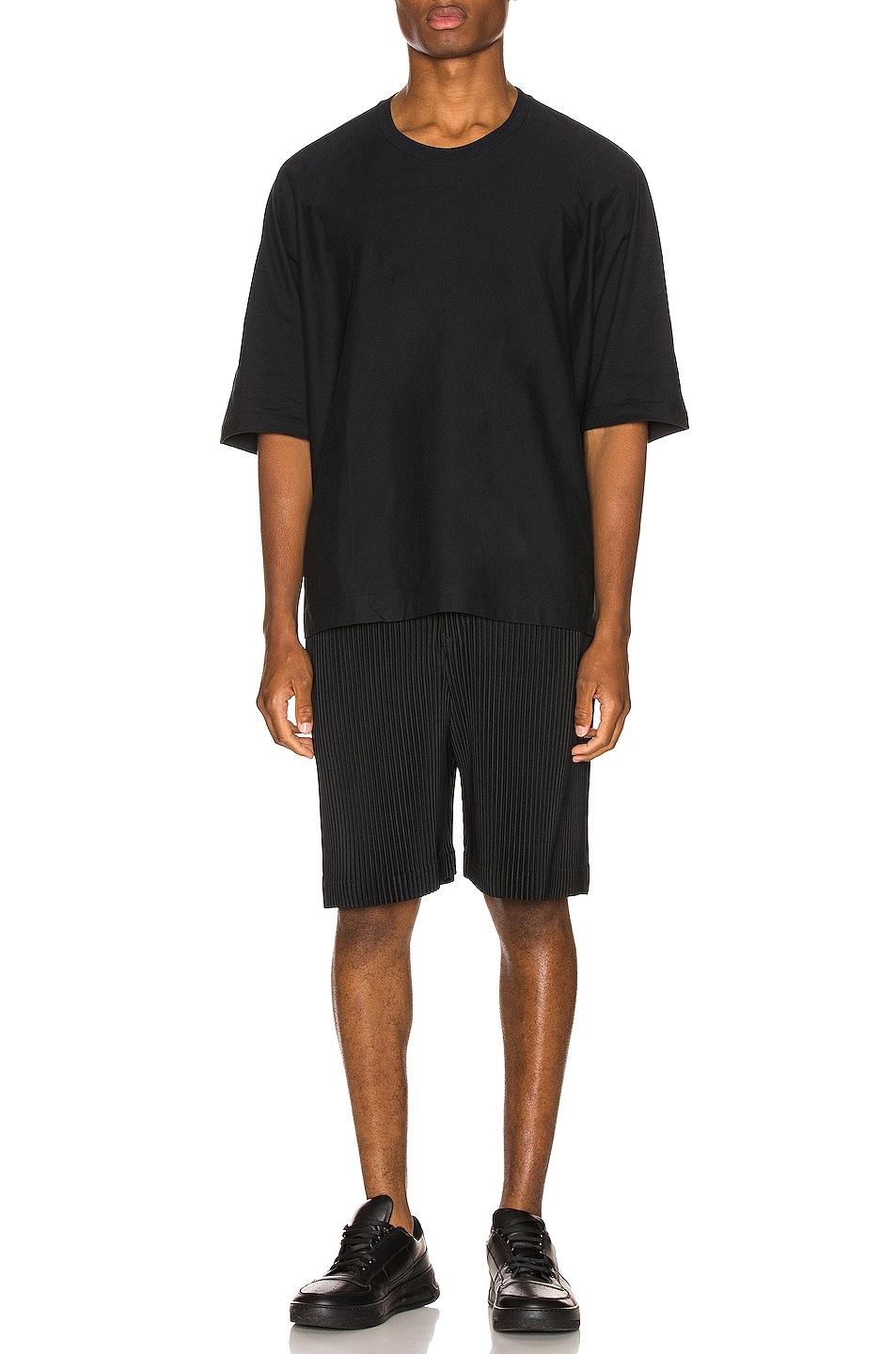Image 4 of Issey Miyake Homme Plisse Shorts in Black