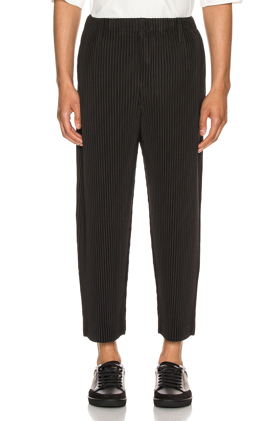 Image 1 of Issey Miyake Homme Plisse Tailored Pleat Pant in Corks Gray