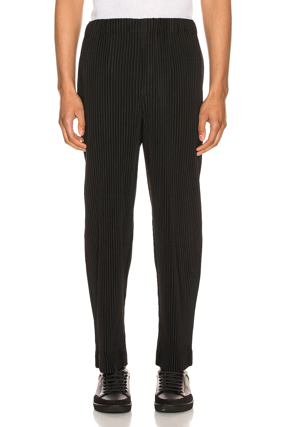 Image 1 of Issey Miyake Homme Plisse Pleated Pant in Black