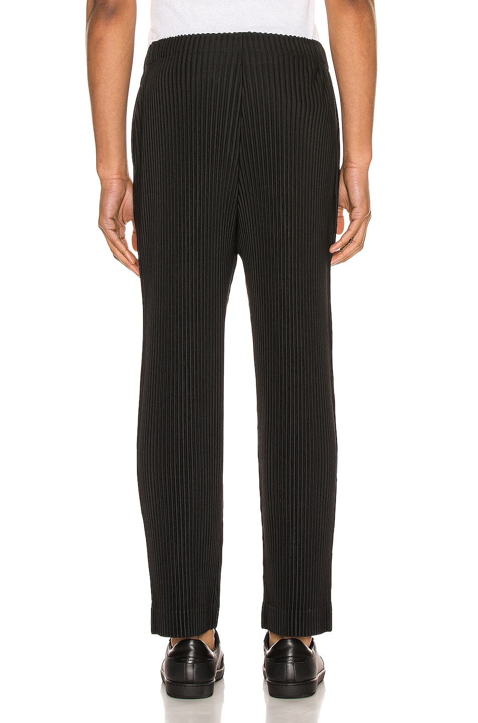 Image 3 of Issey Miyake Homme Plisse Pleated Pant in Black