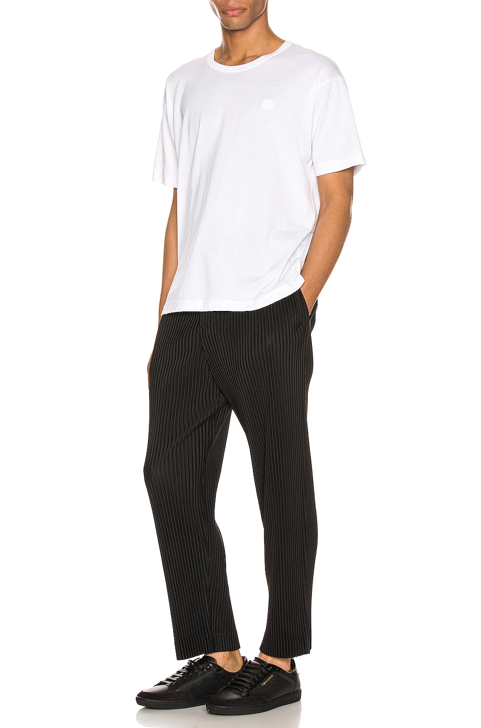 Image 4 of Issey Miyake Homme Plisse Pleated Pant in Black
