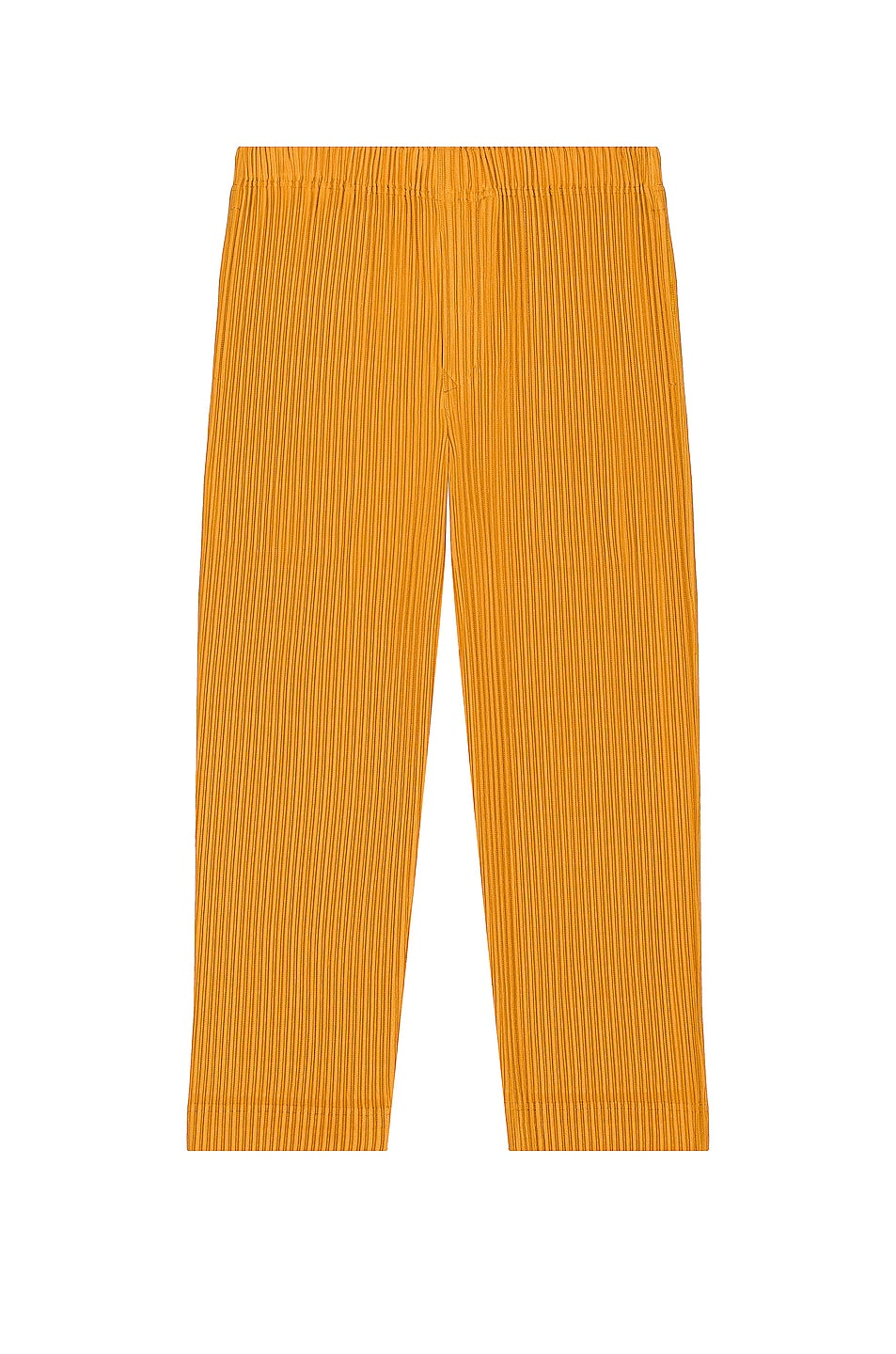 Image 1 of Homme Plisse Issey Miyake Pants in Yellow Ocher