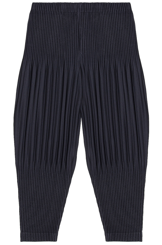 Image 1 of Homme Plisse Issey Miyake Basic Long Pants in Navy