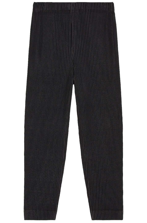 Image 1 of Homme Plisse Issey Miyake Pants in Black