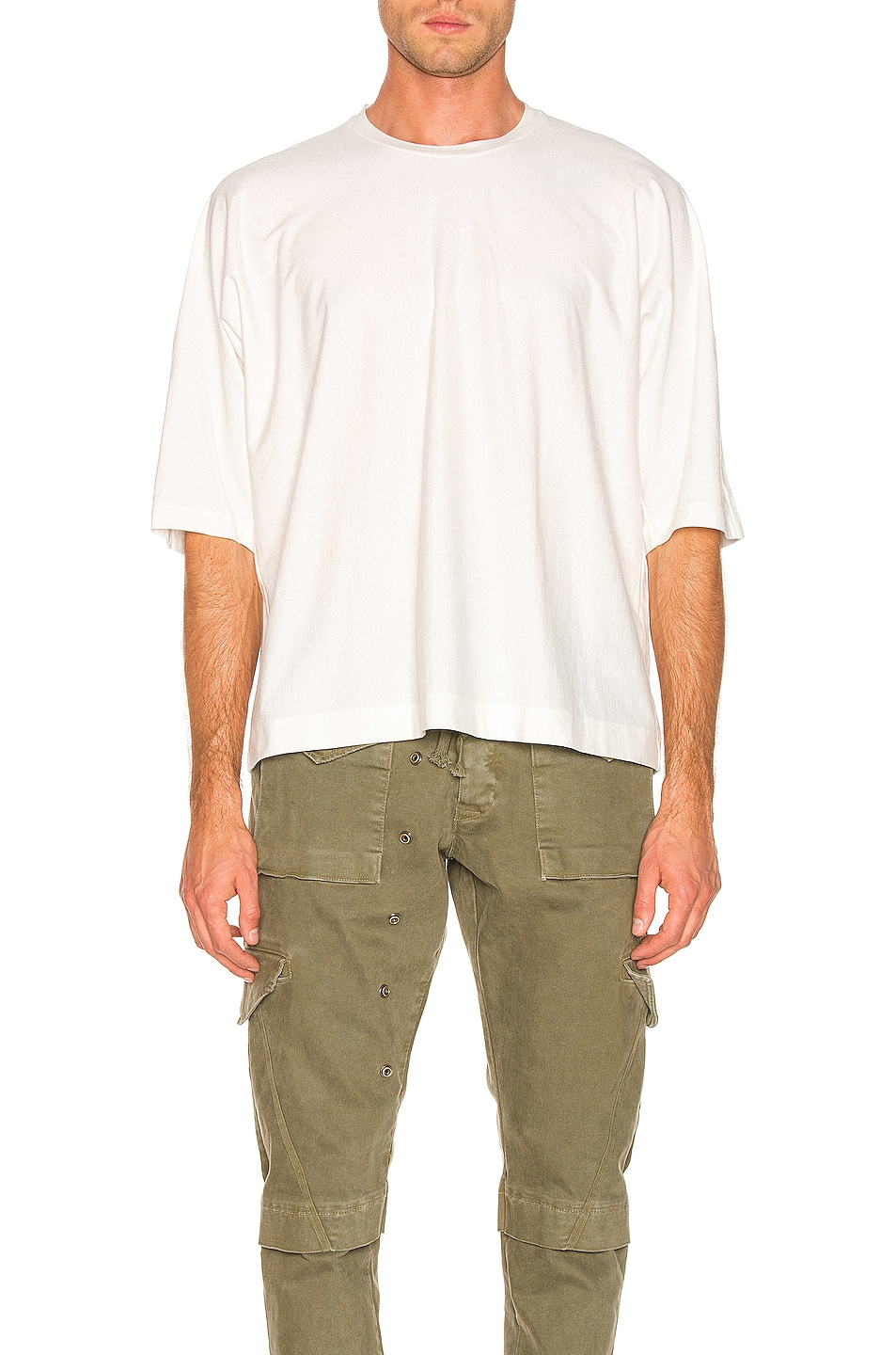 Image 1 of Issey Miyake Homme Plisse Release T in White