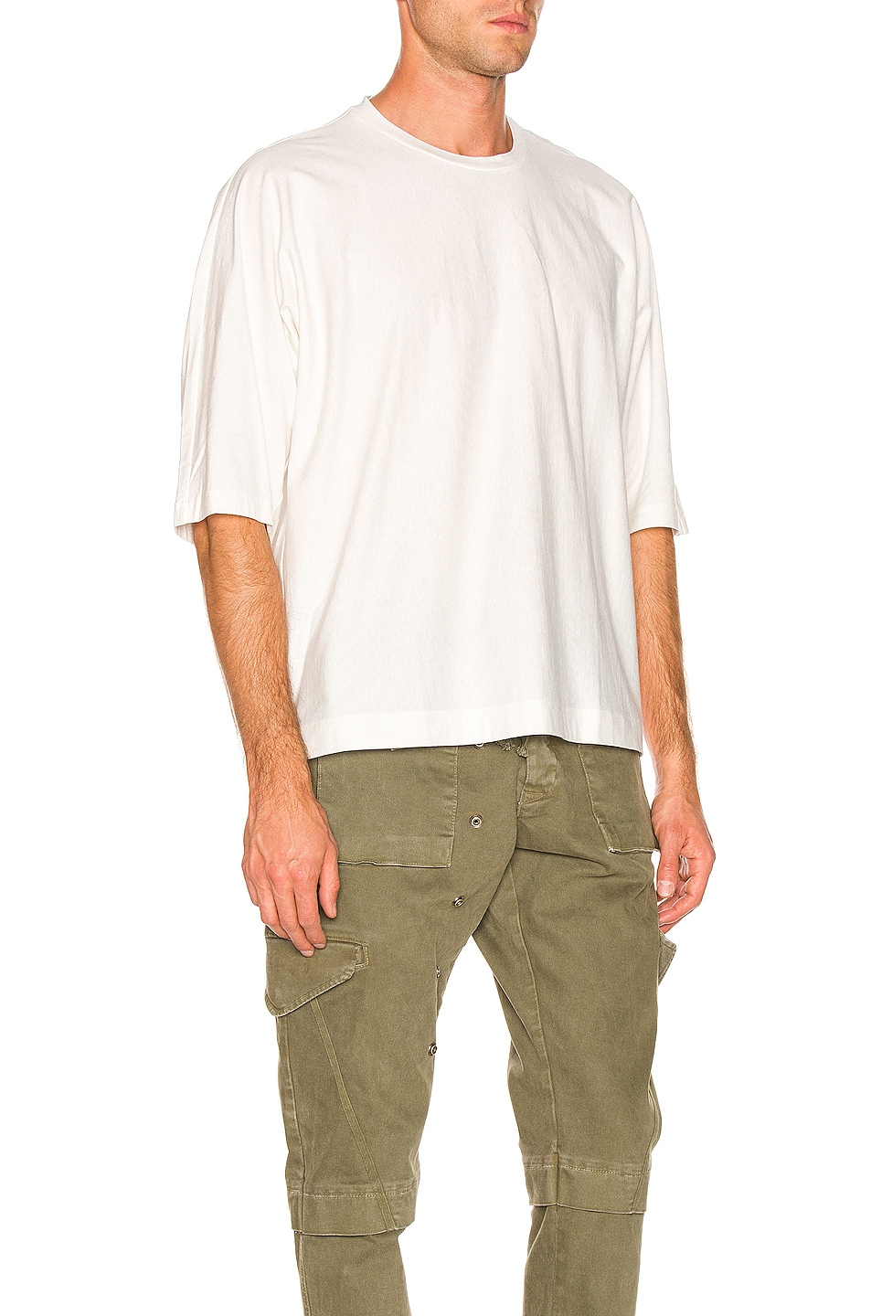 Image 2 of Issey Miyake Homme Plisse Release T in White